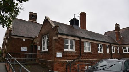 Wensum Junior School, which was targeted by lead thieves. Picture: Sonya Duncan