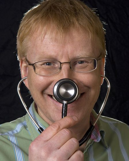 Dr Phil Hammond will be prescribing luaghter as the best medicine when he brings his latest show Dr