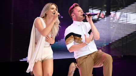Louisa Johnson wil be joining Olly Murs at Thetford Forest. Picture Chris J. Ratcliffe/PA Wire