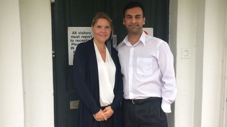 The new manager and owner of Ashill Lodge Care Home, Jackie Cannell and Kay Naidoo. Picture: Rebecca
