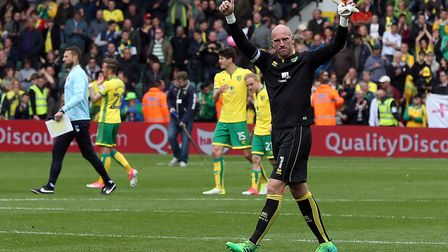 John Ruddy is on the market this summer. Picture: Paul Chesterton/Focus Images Ltd