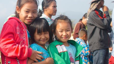 Children supported by Care for Children's projects. Picture: Care for Children