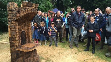 A castle seat which sold for £325. Picture: Andrew Stone