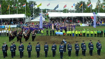The Royal Norfolk Show 2017Show finale which includes music from the Showstoppers Choir