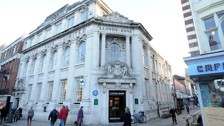 Lloyds Bank in Norwich, as a new trade body for the UK banking and finance sector is launched. Pictu
