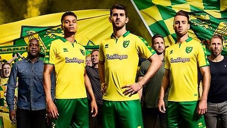 Norwich City have unveiled their latest kit. Picture: Norwich City
