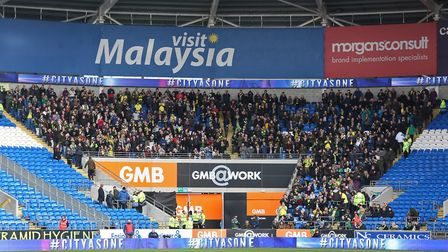 The 931 Norwich fans who made the trip to the Cardiff City Stadium last season, seeing their team wi