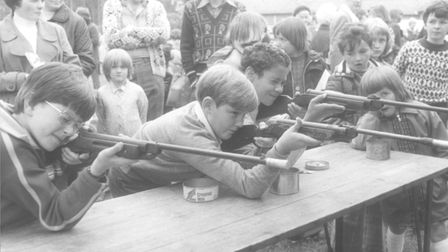 Beccles Hospital Fete, dated June 25, 1977. Picture: Archant Library.