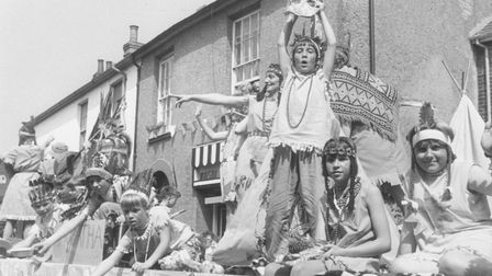Lowestoft Carnival float, date unknown. Picture: Archant Library.