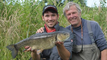 John Bailey and Robbie Northman � a hero in the making. Picture: John Bailey