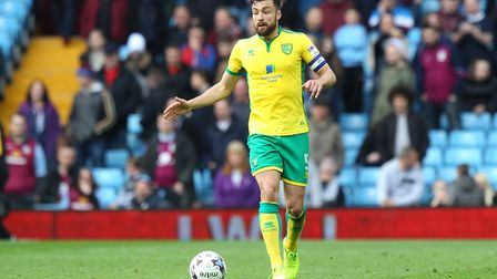 Russell Martin has signed a new deal at Carrow Road that could see him stay until 2020. Picture: Pau