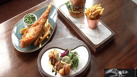 Food avaliable at The Pub on the Prom, Great Yarmouth. Pictures: Archant