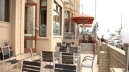 Terrace at The Pub on the Prom, Great Yarmouth. Pictures: Archant