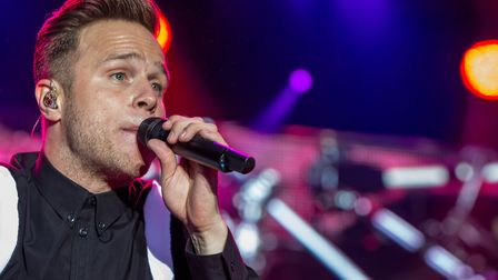 Olly Murs Headlines Forest Live 2017 at Thetford High Lodge. Photo: Lee Blanchflower