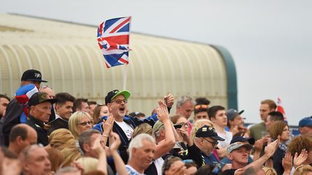 Scenes from the Speedway World Cup at King's Lynn. Picture: Ian Burt