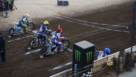 Scenes from the Speedway World Cup in King's Lynn. Picture: Ian Burt