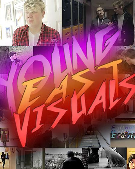 Young Norfolk Arts Festival 2017 - Youth East Visuals Showcase. Photo: Young East Visuals.