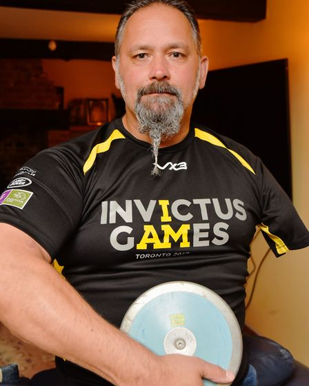Olaf Jones will be part of Team GB at the Invictus Games in Toronto this year. He will be competing