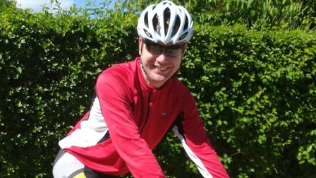 Adrian Tipple, from Sprowston, is getting ready for the The Maratona dles Dolomites (Dolomites Marat