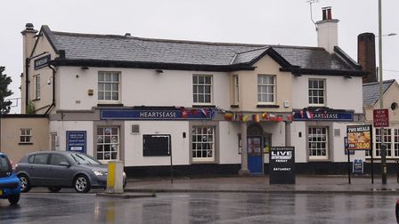 The Heartsease pub on Plumstead Road. Picture: DENISE BRADLEY