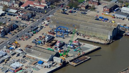 Great Yarmouth port. Picture: John Fielding