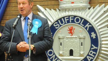 Suffolk PCC Tim Passmore. Picture: Lucy Taylor