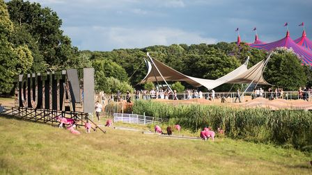 Latitude Festival Waterfront stage. Photo by Ben Gibson