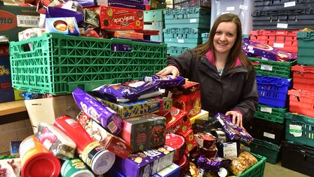 Norwich Foodbank project manager Hannah Worsley. Picture: Nick Butcher