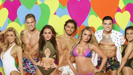 Love Island 2017 cast. Kem Cetinay (middle) will be coming to Norwich. Picture: ITV / Joel Anderson