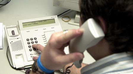 Cold-calling: David Clayton has his own way of dealing with these nuisance callers.