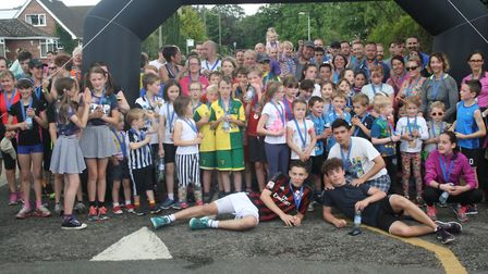 Participants in the 2016 Hethersett Village Fun Run. Picture: Archant Library