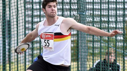 Oliver Massingham finished third at the English Schools Athletics Championships. Picture: Tony Payne