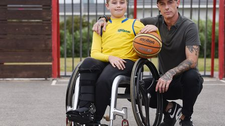 Daniel-Jai Holehouse needs a new wheelchair to help him compete at a higher level in basketball. Dan