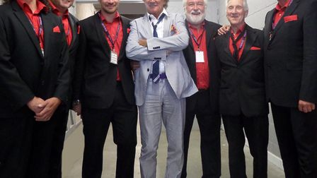 Dereham jazz band DixieMix have returned from a UK Five Stadium Tour supporting Rod Stewart.