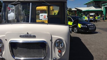 Hundreds of visitors descended on Cromer ambulance station for its open day. Picture: Adam Gretton
