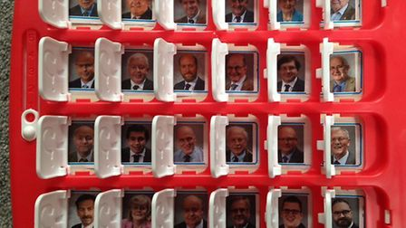 Sarah Dempster replaced her daughter's dinosaur Guess Who game with Conservative Norfolk county coun