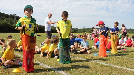 Sheringham Primary School sports day. Picture: KAREN BETHELL