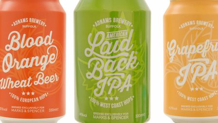 Adnams has produced three new summer beers for M&S. Pictures: M&S