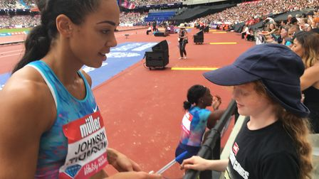 Katarina Johnson-Thompson was among the many athletes setting an awesome example to all of us - and