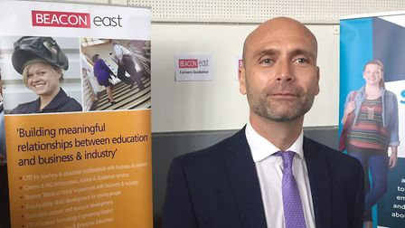 Mark Bruhin, chief executive of Beacon East, which jointly organised the North East Norfolk Futures