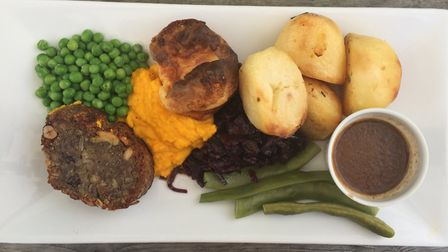 Nut roast at William and Florence. Photo: Emily Revell.