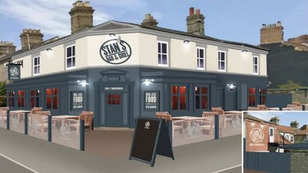 An Artist's impression of what the Stanley Arms in Norwich could look like following its transformat