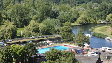 Beccles Lido. Picture: Nick Butcher.