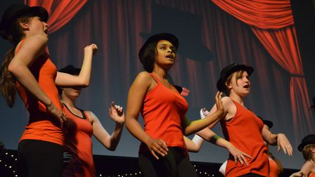 A dance group performing at Open Summer Showcase in 2016. Picture: Open
