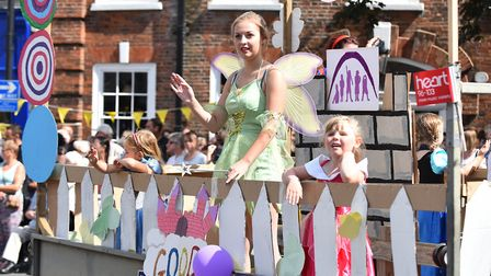 Last year's Beccles Carnival parade. Picture: Archant.
