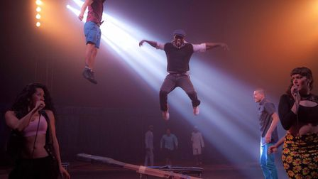Circolombia will perform a preview of Acéléré and a number of street shows. Picture: Circolombia