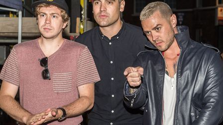 Scenes from Busted on stage at the last night of Festival Too 2017, in the Tuesday Market Place in K