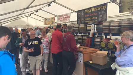 The North Norfolk Railways' beer festival was a great success again. Picture: David Bale
