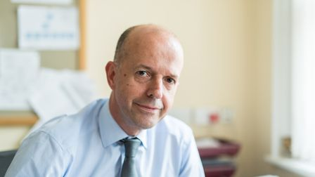 Chief executive of Norfolk and Suffolk NHS Foundation Trust (NSFT) Michael Scott. Photo: NSFT