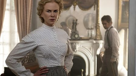 Nicole Kidman as Miss Martha and Colin Farrell as John McBurney in The Beguiled. Picture: Focus Feat